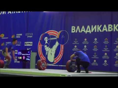 2016 Russian National Weightlifting 77 kg C & Jerk