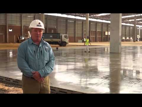 Showcasing technologies in industrial concrete flooring [construction]