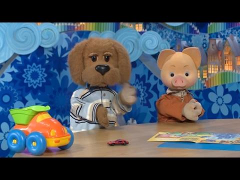 СПОКОЙНОЙ НОЧИ, МАЛЫШИ! - Игра в рифмы 🐶🐷 Интересные мультики для детей