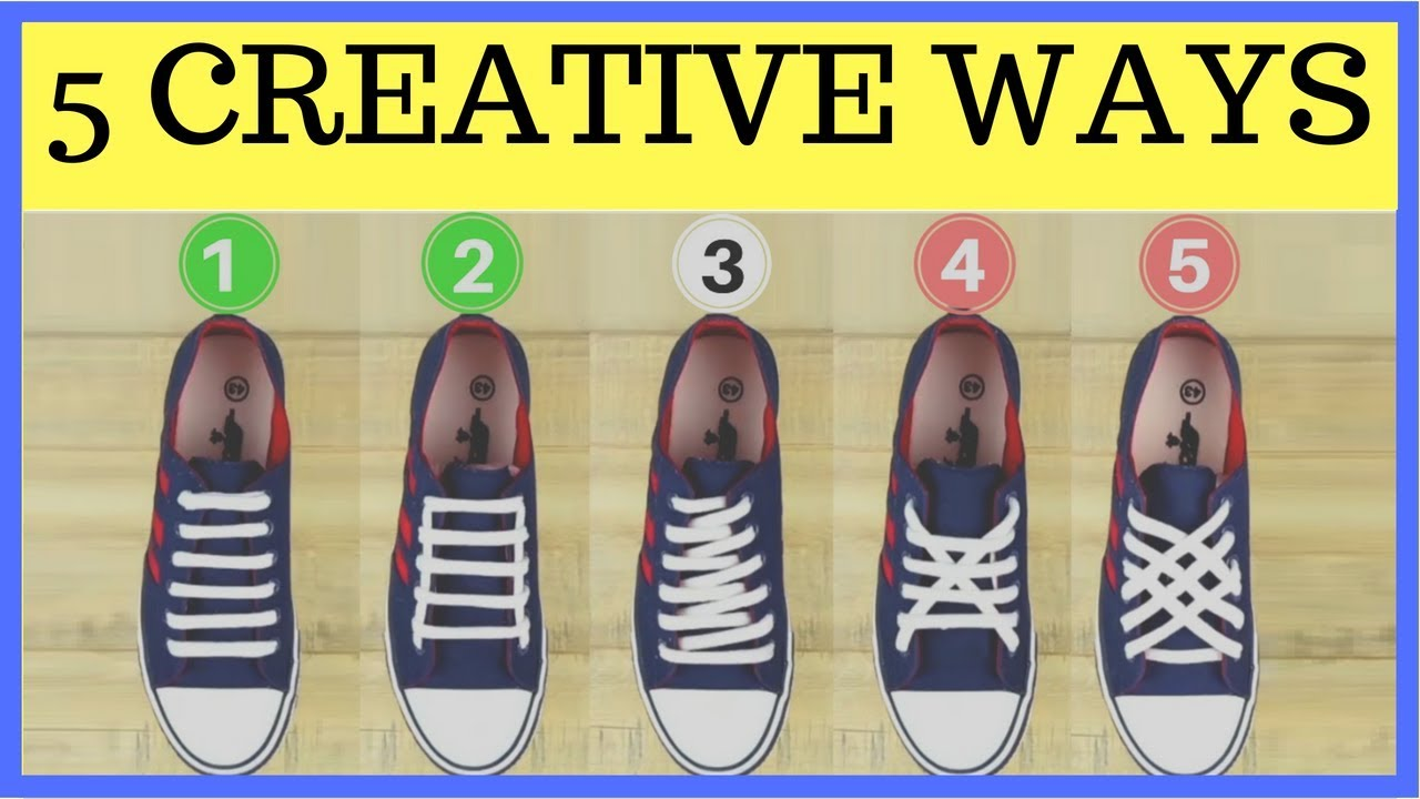 How To Tie Your Shoelaces The Cool Way