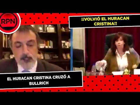 Cristina Kirchnerle cortó el micrófono a Bullrich