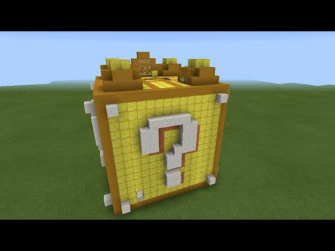 GIANT Working Lucky Block In Minecraft PE