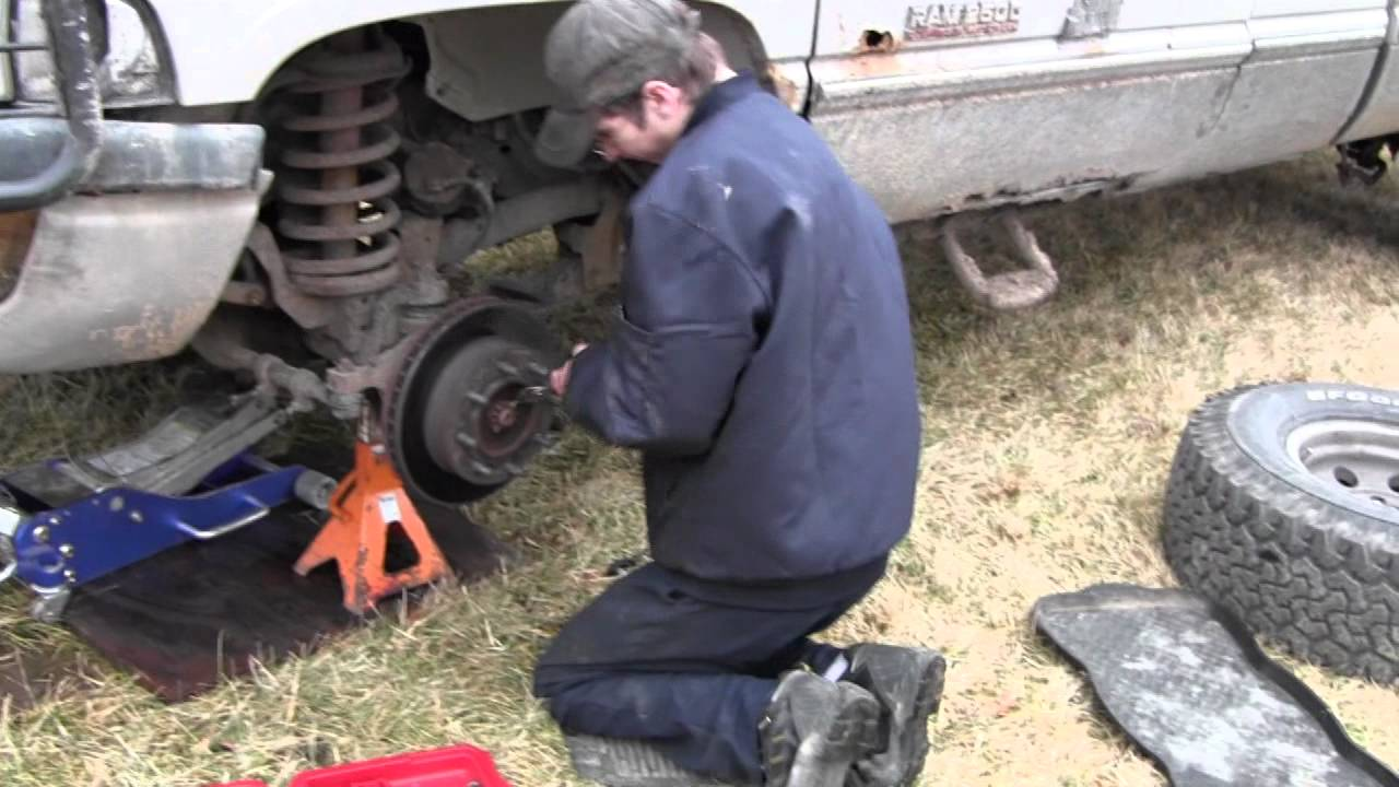 Dodge Ram Front Wheel Bearing Failure And Replacement Part 1 Youtube 1986 D250 Pictures Only