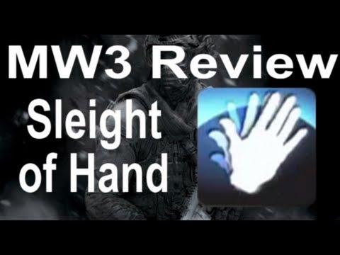 Sleight of Hand - Blue Perks - Modern Warfare 3 Review - #1
