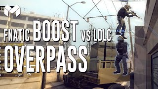 CS:GO - Fnatic Overpass boost vs LDLC(Subscribe to Make Nice: http://tinyurl.com/makenicesub Boost me up #5 lol Facebook: https://www.facebook.com/MakeniceYT reddit: http://redd.it/2nrb4b Send ..., 2014-11-29T13:34:36.000Z)
