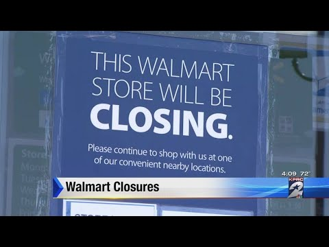 2 Walmart Stores Closing In Houston Area
