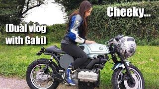 STOP TWERKING ON THE BIKE | Girlfriend Dual moto vlog