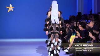 Показ    MANTIS RELIGIOSA,  Ukrainian Fashion Week, Осень Зима 2016 17