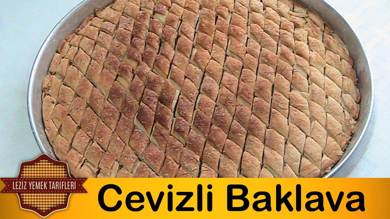 Cevizli Baklava Tarifi - YouTube