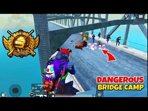 Three SQUADS did Most *DANGEROUS* Bridge Camp and CONQUEROR Sad ENDING in PUBG Mobile