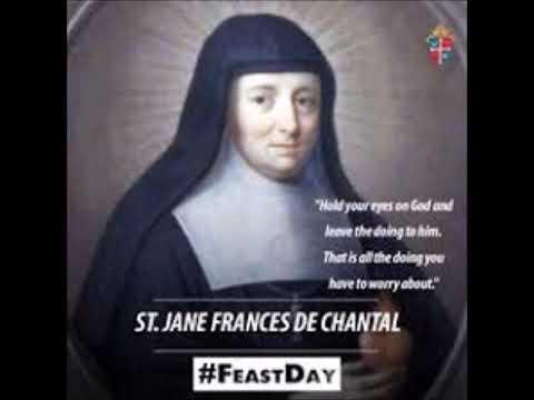 Saints of 12th Aug St Jane Frances de Chantal