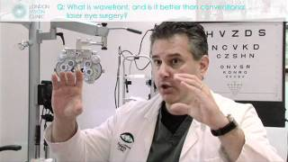 What is wavefront, and is it better than conventional laser eye surgery?