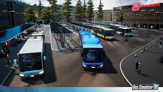 I played Euro Truck Simulator 2 and Roblox but I was playing Bus Simulator 2018!!