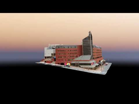 World Trade Convention Centre 3D Model