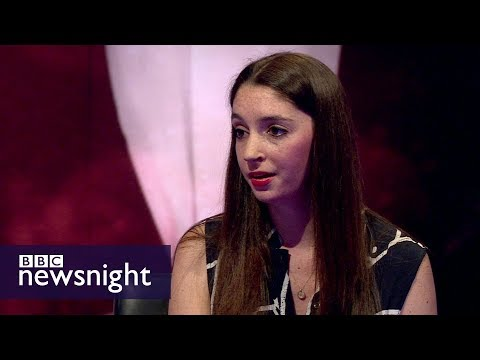 Interview with undercover journalist Madison Marriage - BBC Newsnight