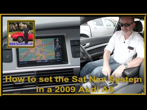 how-to-set-the-sat-nav-system-in-a-2009-audi-a6