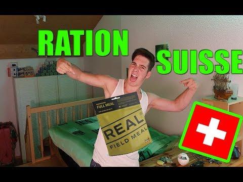 DEGUSTATION RATION SUISSE - Yann