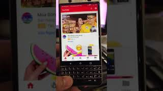 Xoá tài khoản google blackberry key one, remove account google blackberry key one