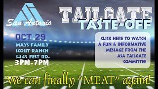 ASA Tailgate Taste Off & Mixer 2020