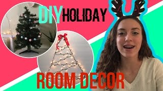 DIY Christmas Room Decor! 2016 | avamayvibes