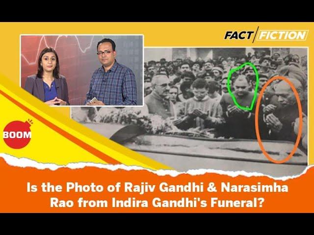 Fact Vs Fiction: Old Photo Of Rajiv Gandhi & Narasimha Rao Fuels Old Conspiracy Theory