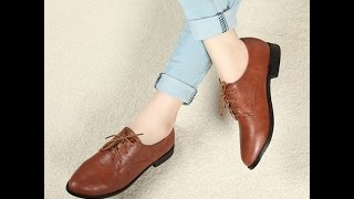 Туфли Женские на Низком Каблуке - купить - 2018 / Women's shoes with low heels - buy