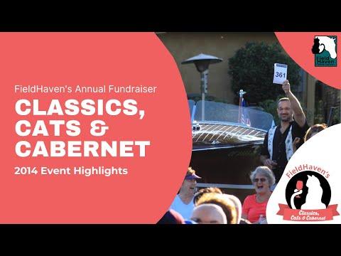 Classics, Cats & Cabernet 2014 || FieldHaven Feline Center