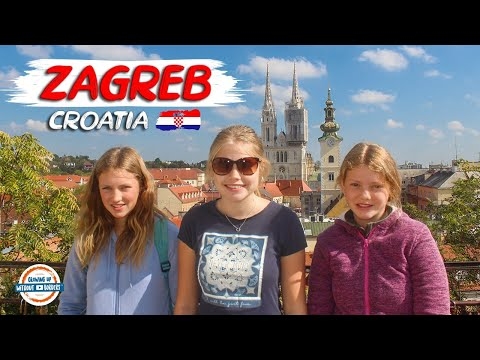 Zagreb Croatia City Tour | Top Things to See & Do | 98+ Countries with 3 Kids