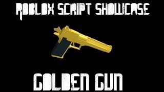 Roblox Script Showcase: Golden Gun Void Script Builder (Platz 2)