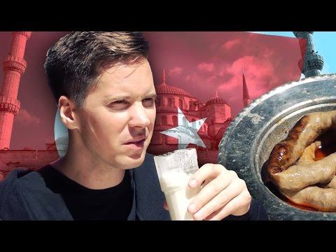Taste Testing Turkish Food [Kult America]