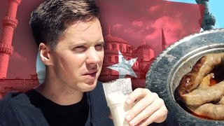 Taste Testing Turkish Food [Kult America]