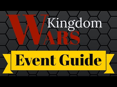 Kingdom Wars - Event Guide for War Dragons