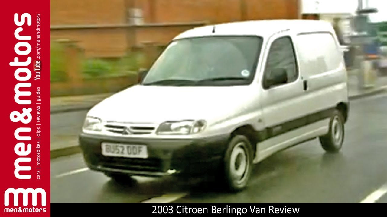 2003 citroen berlingo van review youtube. Black Bedroom Furniture Sets. Home Design Ideas