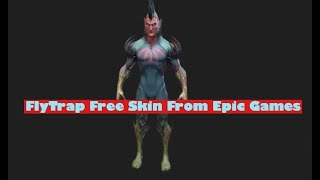 *NEW* Fortnite FlyTrap Skin (MUST WATCH!) 3D Model Fortnite Battle Royale Gameplay