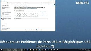 Résoudre Les Problèmes de Ports USB et Périphériques USB (Solution 2)(Win 10, 8.1, 8, 7 and Vista)