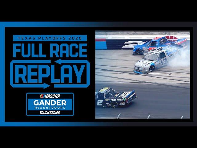 SpeedyCash.com 400 from Texas Motor Speedway | NASCAR Truck Series Full Race Replay