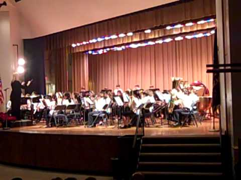 Heim Middle 5th Gr. Band Winter Concert, 01/13/11 (Sel.#1)