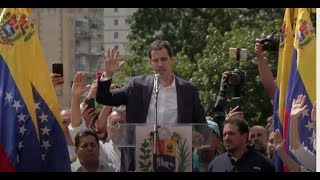 US, major South American powers recognise Nicolas Maduro opponent as Venezuelan President