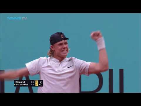 Thiem, Shapovalov, Anderson, Zverev into semi-finals | Madrid 2018 quarter-final highlights