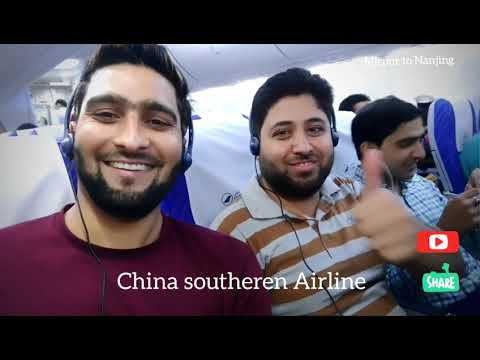 Pakistan(Lahore) to China(Nanjing) travelling. Mtvlogs 4k video