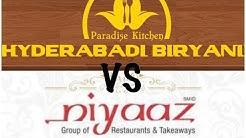 Hyderabadi biryani VS Niyaz biryani || Family & Food || Momos || Hubli