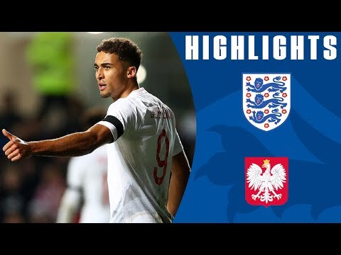 England U21 1-1 Poland U21 | Dominic Calvert-Lewin Scores as Young Lions Draw! | Official Highlights
