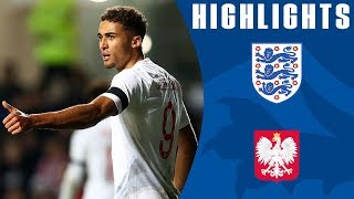 England U21 1-1 Poland U21 | Dominic Calvert-Lewin Scores as Young Lions Draw! | Official Highlights