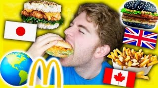 TASTING MCDONALDS FROM AROUND THE WORLD