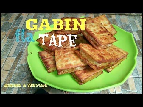 Resep Membuat Gabin Isi Fla Tape Singkong # How to make Gabin Fla Cassava 'TAPE'