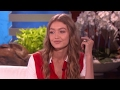 Gigi Hadid DISHES On Zayn & Fangirls Over The 'Apparently' Kid