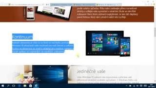 první dojmy po instalaci Windows 10 😉 CZ