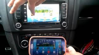 Volkswagen Rns 510  smart phone miirroring system