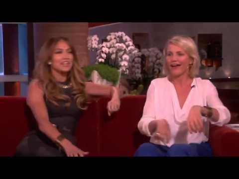 Jennifer Lopez and Cameron Diaz Open Up on The Ellen Degeneres Show