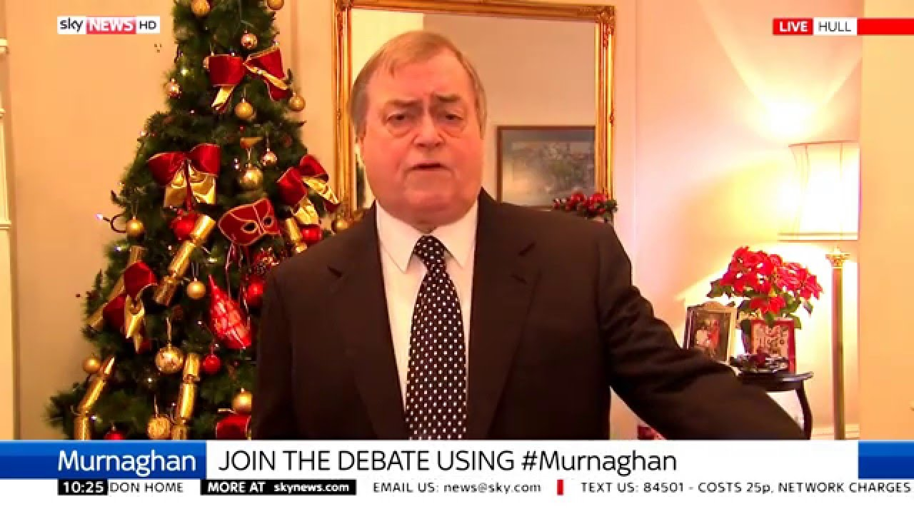 """John Prescott On Climate Change Deal: """"We've Got To Move To A Green Economy"""""""